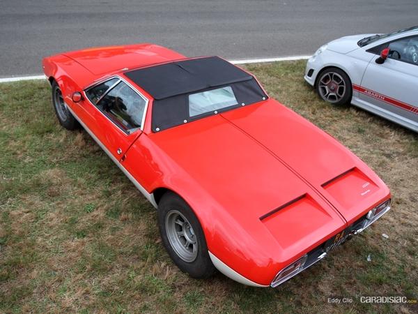 Photos du jour : DeTomaso Mangusta Spider (Le Mans Classic-Réponse de quizz)