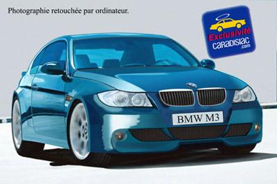400 ch pour la nouvelle M3 !