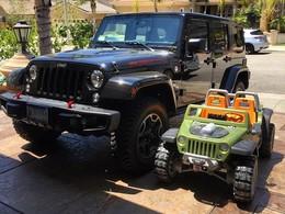 Xzibit achète deux Jeep Wrangler : un grand pour lui, un petit pour son fils