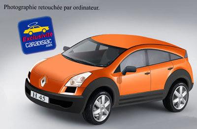 Renault prépare un 4x4 !