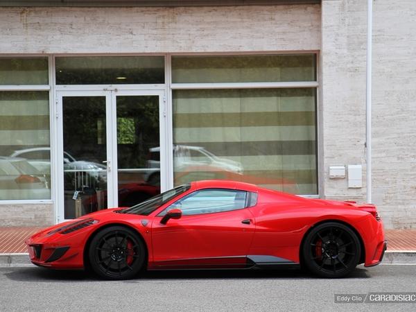 Photos du jour : Ferrari 458 Spider Mansory Siracusa Monaco Limited Edition