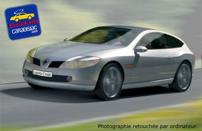Sur les traces du futur coupé de prestige Renault
