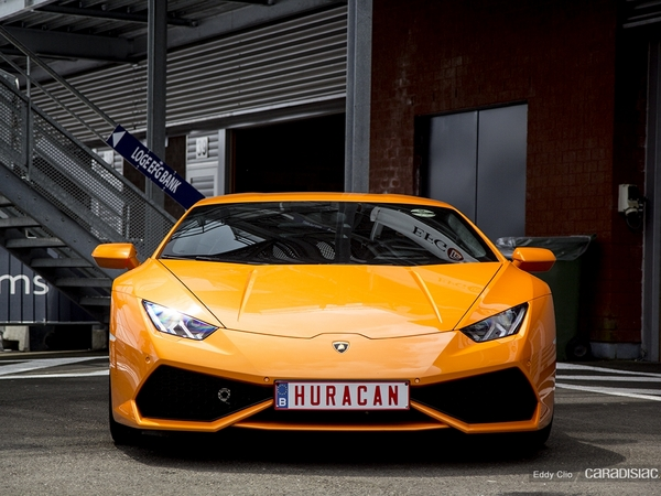 Photos du jour : Lamborghini Huracan (Spa Classic)