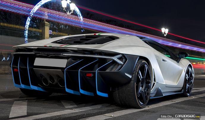 Photos du jour : Lamborghini Centenario
