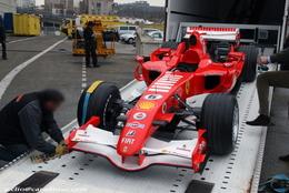 Photos du jour : Ferrari F1 2006