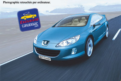 Le coupé 407 arrive en 2005