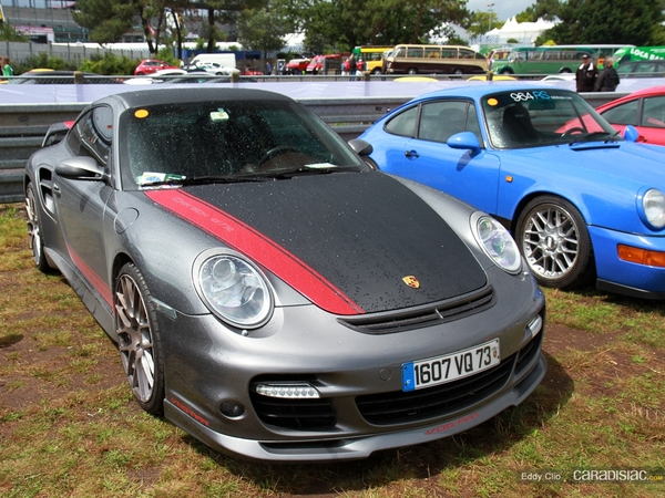 Photos du jour : Porsche 997 Turbo By Car'Tech (Le Mans Classic)