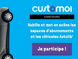Appel à projets : et si on customisait les Autolib' ?