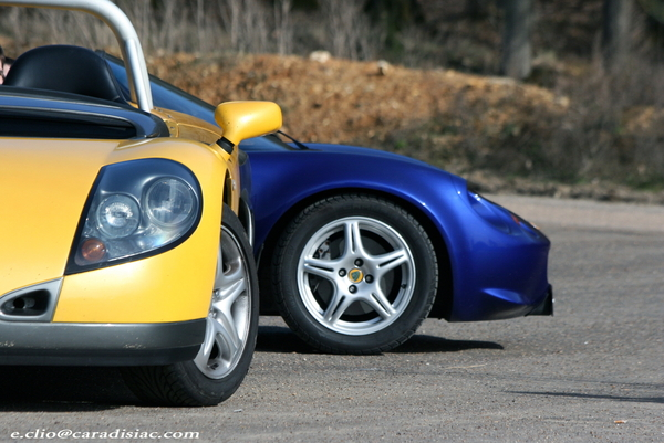 Photos du jour : Lotus Elise & Renault Spider