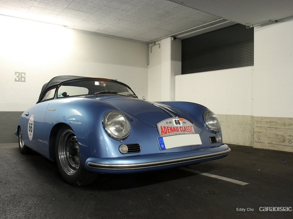 Photos du jour : Porsche 356 Speedster (Nürburgring)