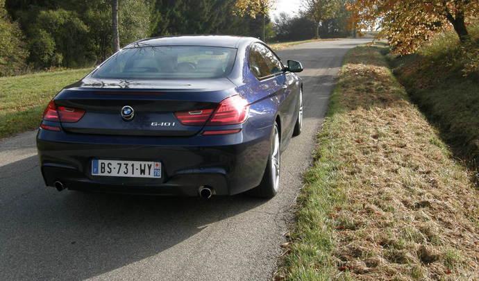 BMW stoppe la Série 6 coupé