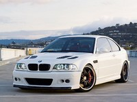 BMW M3 Black and White