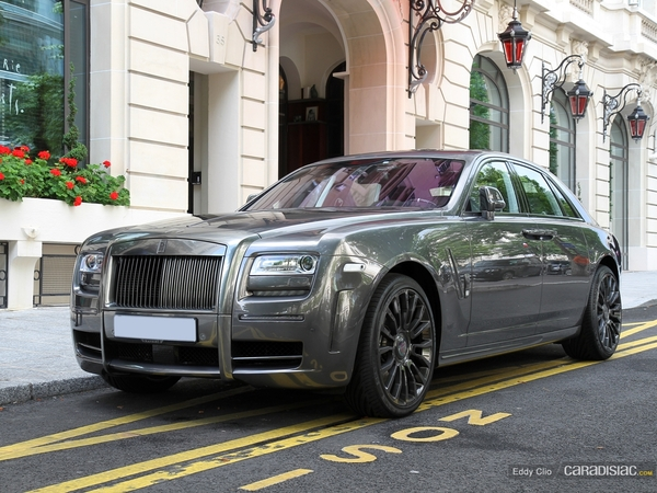 Photos du jour : Rolls Royce Ghost by Mansory