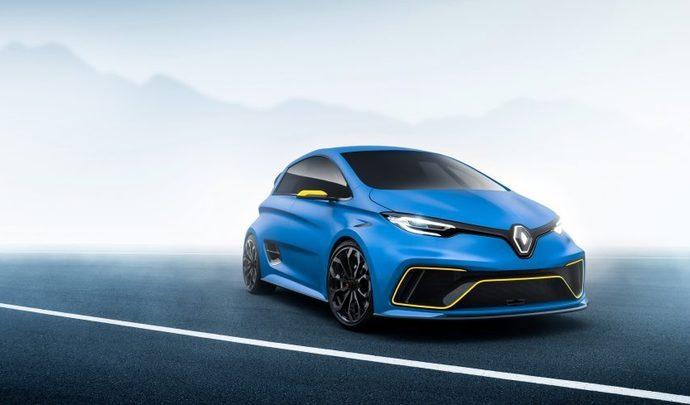 """Une Renault """"Zoe RS"""" pour remplacer la Clio RS ?"""
