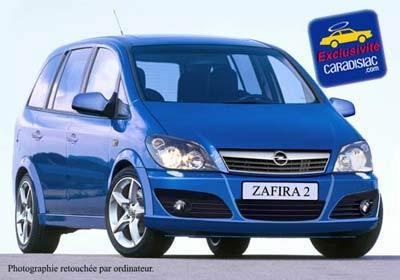 Tout sur l'Opel Zafira 2