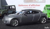 Miniature : 1/43ème - JAGUAR concept-car R-D6