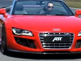 [Vidéo] Audi R8 Spyder par Abt : méchante et sonore