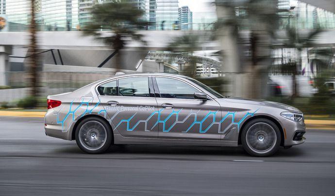 BMW nous explique les 5 stades de la conduite autonome