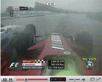 Vidéo F1 Fuji: Massa-Kubica, façon Arnoux-Villeneuve