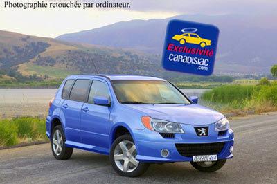Peugeot prépare un 4x4