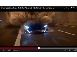Mondial de Paris 2012 : Peugeot ose la bande-annonce