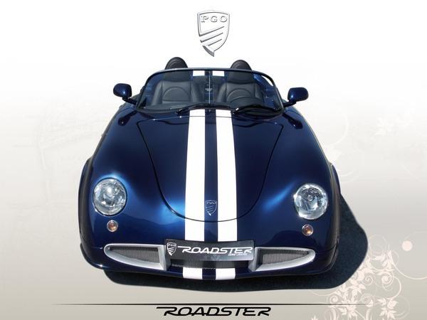 PGO Roadster : les précisions