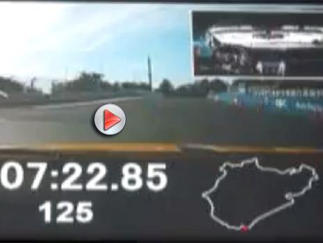 [vidéo] Ring Folies : la Lexus LFA Nürburgring Edition  en 7'22''85