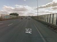 A15 vers Paris: l'autoroute sera coupée plusieurs jours après un affaissement sous unviaduc