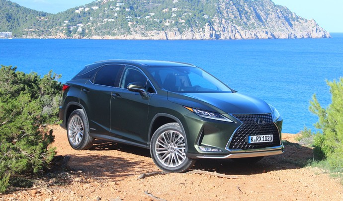 Essai vidéo - Lexus RX 450h restylé (2019) : subtiles améliorations