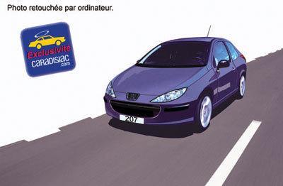 Peugeot 207: c'est prévu pour 2006 !