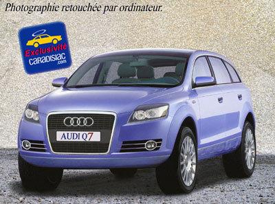 Audi Q7 : le Touareg des Anneaux