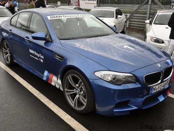 Ring Folies non officielles : la BMW M5 F10 en 7'55''