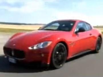 [Vidéo] La Maserati Gran Turismo S Automatica part faire sa promo à Reims