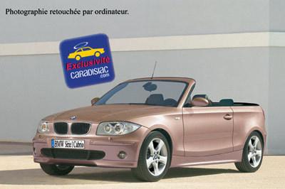 BMW Série 1 : le cabriolet en 2008