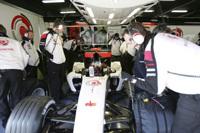 Honda inaugure la première séance des essais libres du GP d'Australie