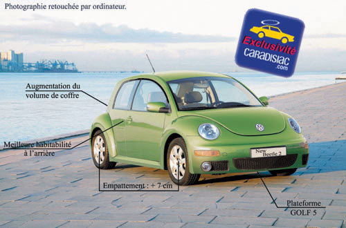 La Volkswagen New Beetle 2 arrivera en 2009