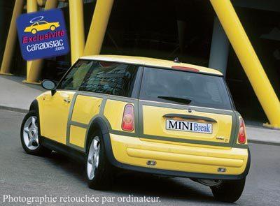 Le break Mini arrivera en 2009