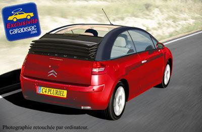 Citroën songerait à une C4 Pluriel