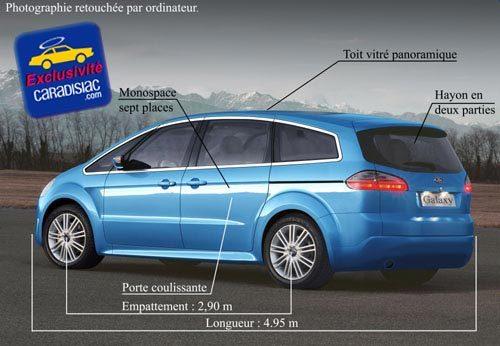 Ford aura bientôt deux grands monospaces !
