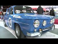 Vidéo en direct de Rétromobile 2014 - Renault fête les 50 ans de la R8 Gordini