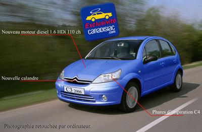 Citroën va restyler sa C3 en 2006