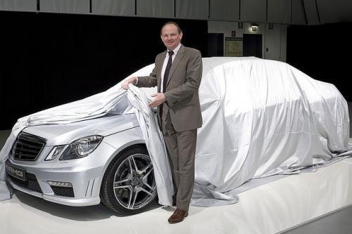 Nouvelle Mercedes Classe E63 AMG : dévoilée (un peu)