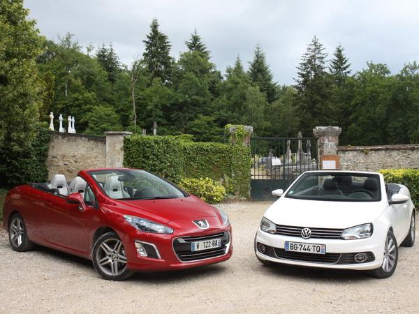 Vidéo - Peugeot 308 CC vs Volkswagen Eos : une place au soleil