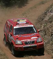 Christian Lavieille avec Nissan