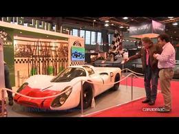 Vidéo en direct de Rétromobile 2014 - La Porsche 908 de 1968
