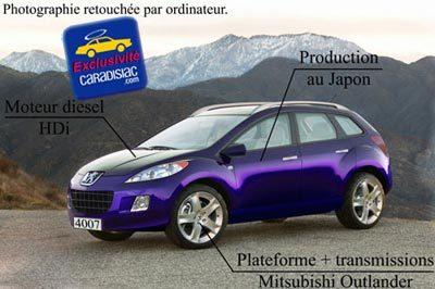 Peugeot 4007, le 4x4 du Lion