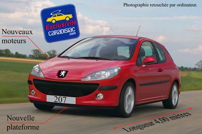 La Peugeot 207 arrive en 2006