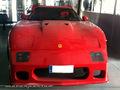 Une Corvette transformée en Ferrari F40
