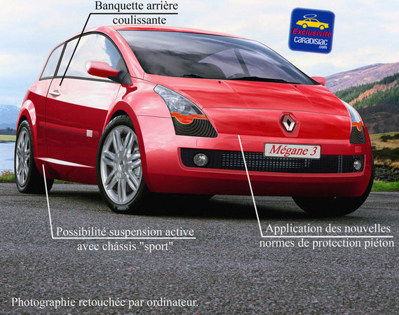 Renault Mégane 2009 : quelle belle gueule !