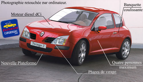 Renault Twingo 2, toujours aussi attractive